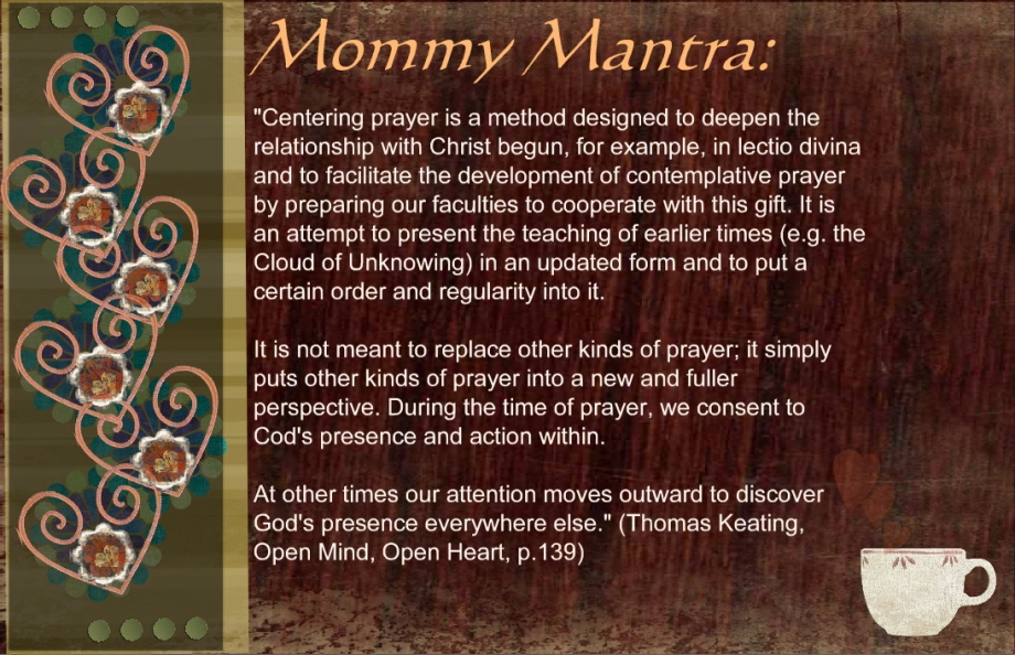 Mommy Mantra Keating Largest Card