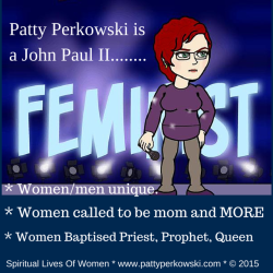 Patty Perkowski is a John Paul